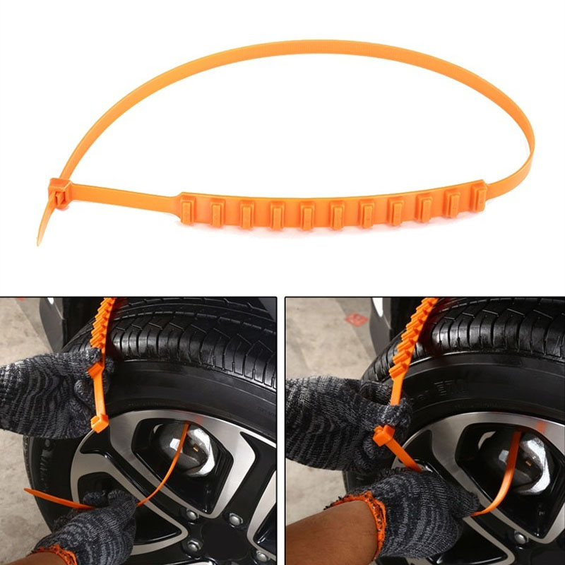 New Car Tire Anti-skid Anti-slip Chain Emergency Tyre Chain for Sand Road Snow Road CSL2018
